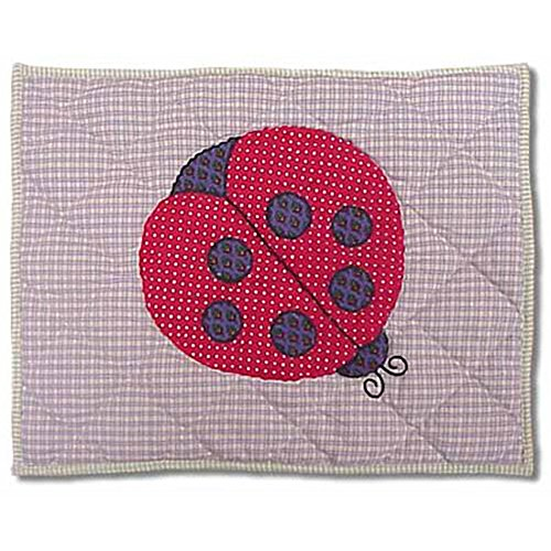 Patch Magic PNLADY Ladybug Neck Pillow, Multicolor (Ladybug Quilted)