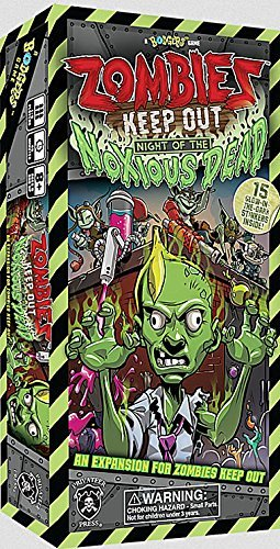Zombies Keep Out - Night the of the Night Noxious Expansion 82a58e