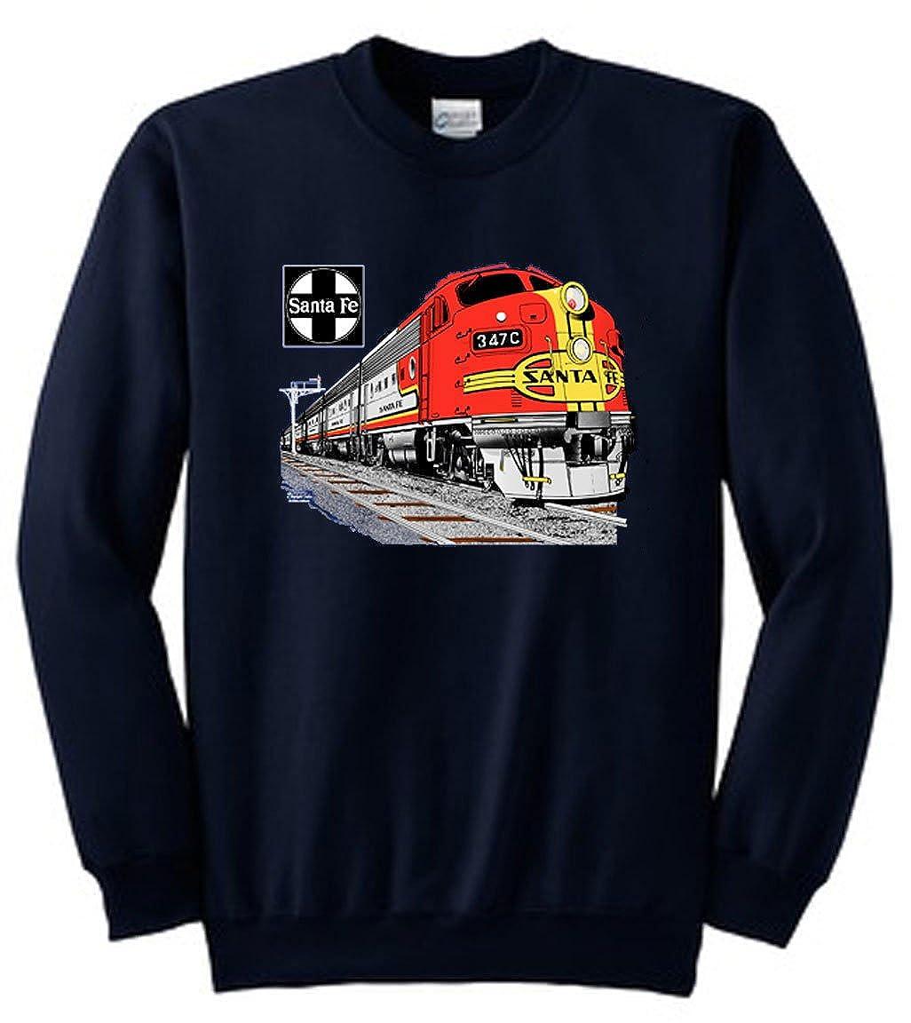 AT&SF (Santa Fe) Super Chief at Night Authentic Railroad Sweatshirt