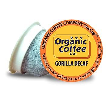Organic Coffee USDA Organic and Kosher Decaf K-Cups