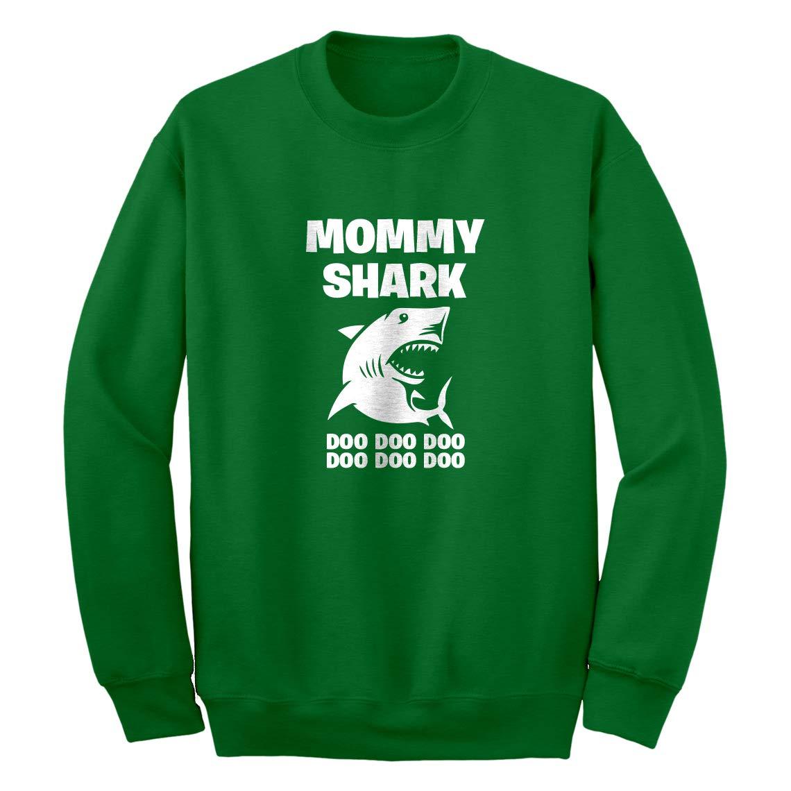 Indica Plateau Mommy Shark Unisex Adult Sweatshirt 3756-C