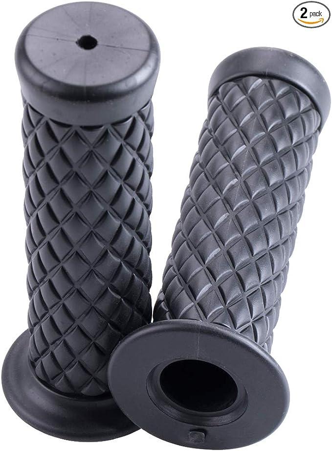 "Mrelc Motorcycle Anti-Slip Rubber Strip Handle 7//8/"" 22Mm 24Mm Motorcycle Comfort"