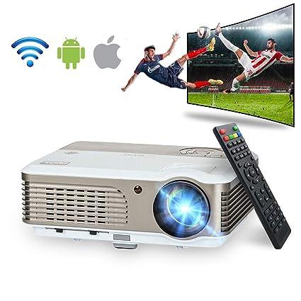 0926d6c6d Amazon.com  Wireless Projector WiFi 2600 Lumens (2018 Updated ...