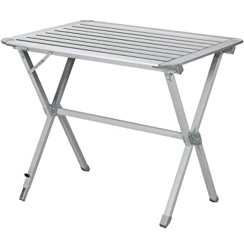 Aluminium Camping Klapptisch 80 X 60 Cm Campingtisch Falttisch
