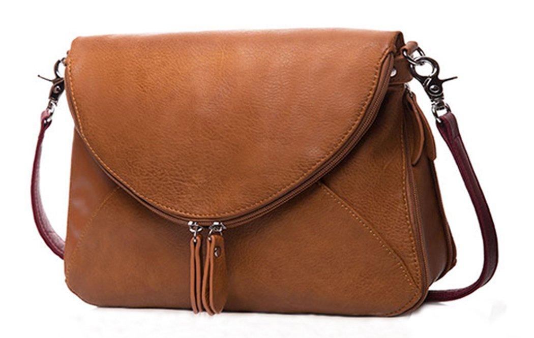Medium Crossbody Bags Zipper Shoulder Bags Satchel for Women Tote Bag