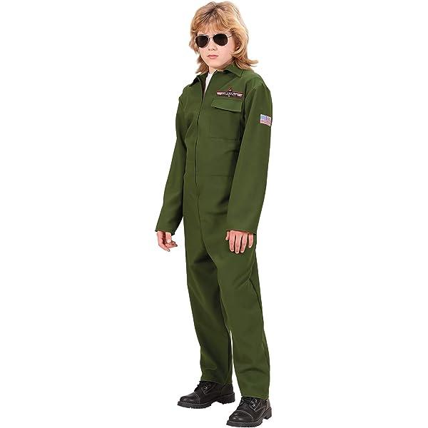 WIDMANN Infantil pesada tela del avión de combate Traje ...