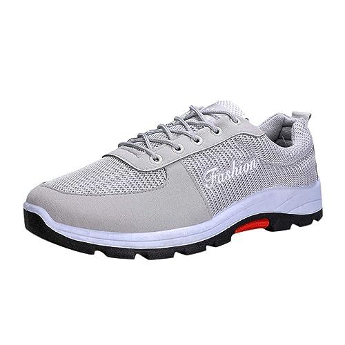 LHWY Zapatillas Mocasines de Deportes Zapatos de Primavera y otoño Calzado Deportivo Casual Running Hombre Zapatos