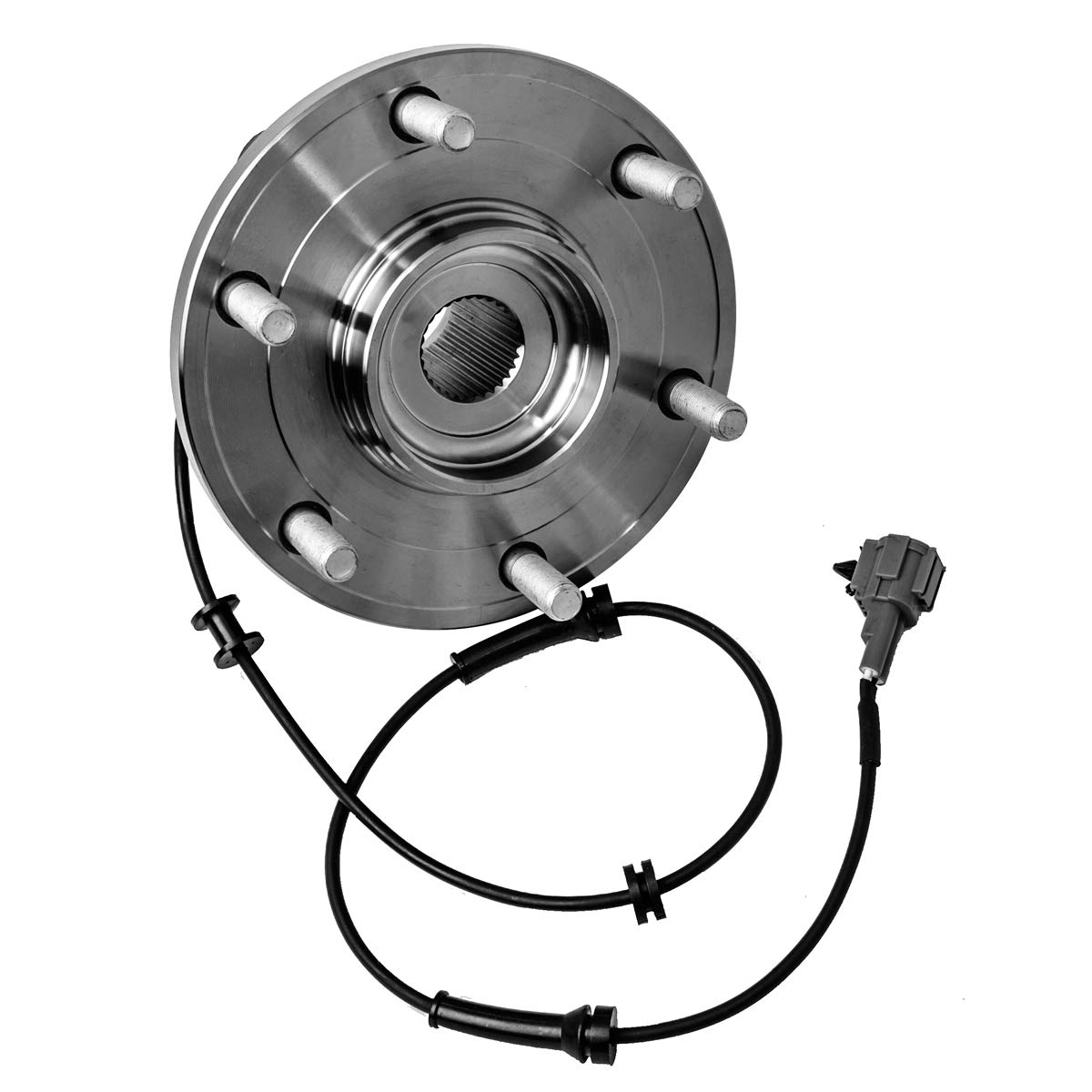 6 Lug W//ABS Front Wheel Hub and Bearing Assembly Left or Right Compatible Infiniti QX56 Nissan Titan Armada Pathfinder Armada AUQDD 515066