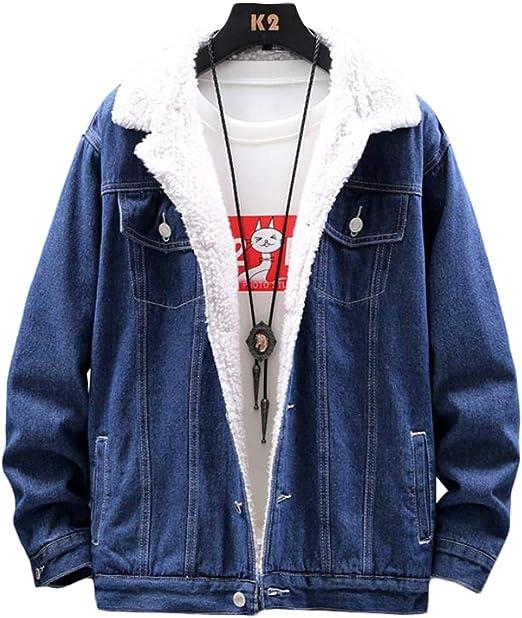 [ShuMing]ボアデニムジャケット メンズ 裏ボア ジージャン 厚手 防寒 コート 冬 あったか 保温 アウター 防風 カジュアル ボアジャケット 大きいサイズ 冬服