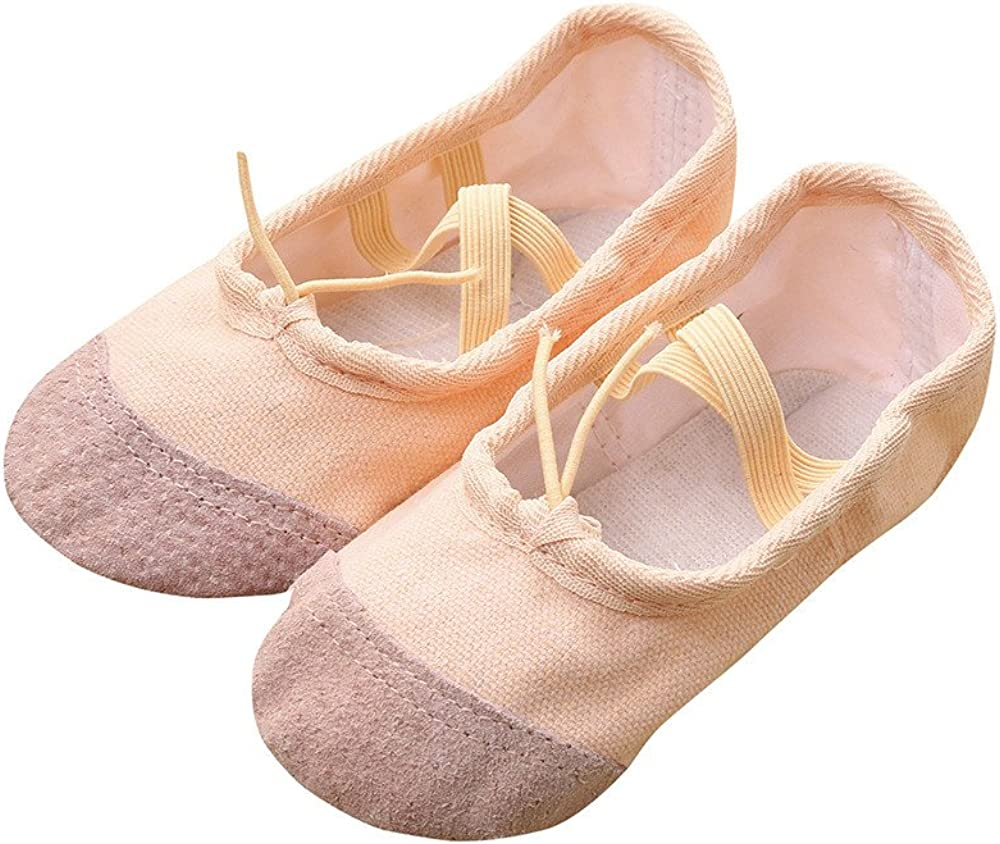16 Size Ballet Dance Shoes Slippers Kid Adult Pointe Dance Gymnastics Flat Shoes