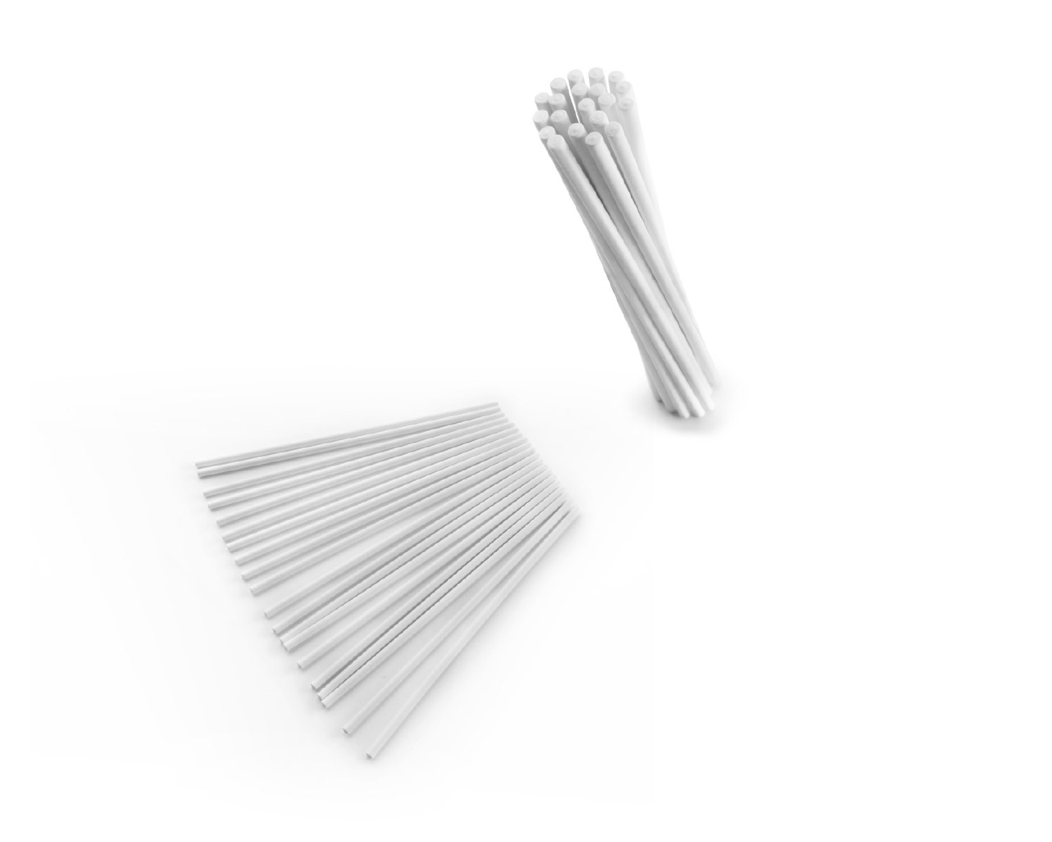 Ibili Cake Pop Sticks, White, 10 cm, 100-Piece 786510