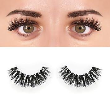 50d97ec9a82 BEPHOLAN 0.10 Faux Mink Lashes Synthetic Fiber False Eyelashes | Dramatic  Flare Look | 3D Layered