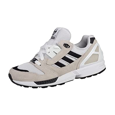 3ca29b5be adidas ZX 8000 - S82819 - Color Beige-Black-White - Size  4.5 ...