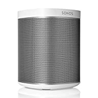 Sonos PLAY:1 Compact Wireless Smart  Speaker for Streaming Music (White)
