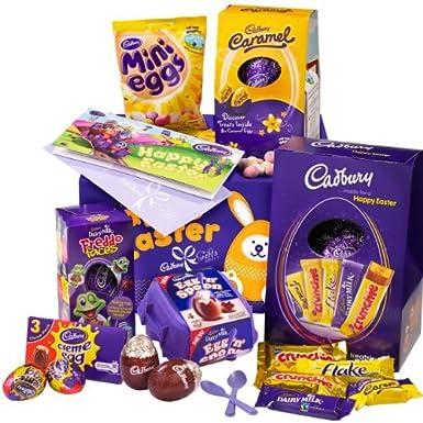 Cadbury family easter gift box amazon grocery cadbury family easter gift box negle Image collections