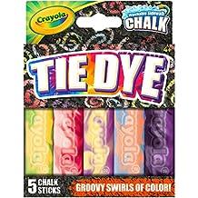 Crayola Special Effects Sidewalk Chalk - Tie Dye (5 Chalk Sticks)