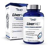 1MD LiverMD - Liver Cleanse Supplement | Milk