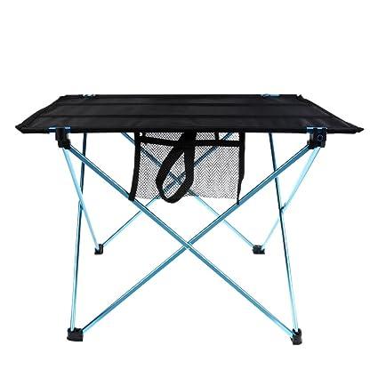 Aluminium klappbar Tisch mit Tragetasche für Mini Garten Buffettisch Grill BBQ