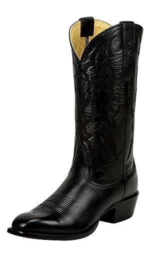 Nocona Western Boots Mens Cowboy Underslung Heel 8.5 D Black NB2120