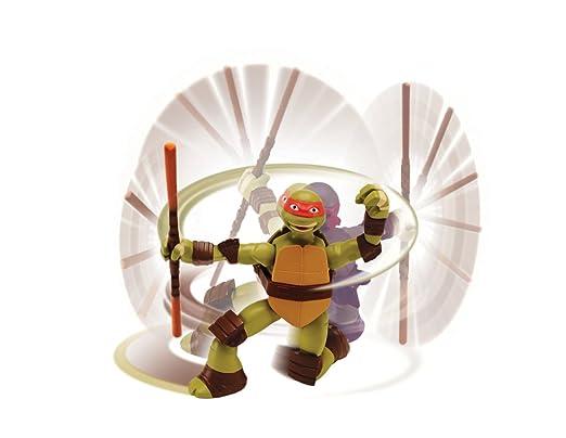 Teenage Mutant Ninja Turtles Deluxe Mikey Action Figure ...