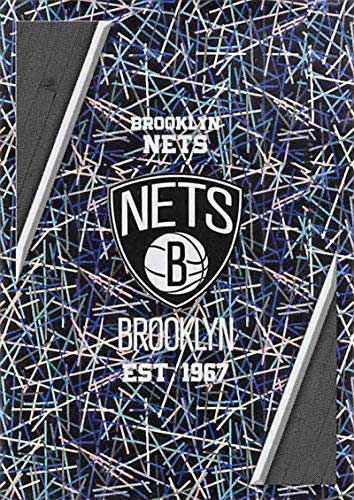 - 2018-19 Panini NBA Stickers #36 Brooklyn Nets Logo NM-MT Brooklyn Nets Officially Licensed NBA Basketball Sticker