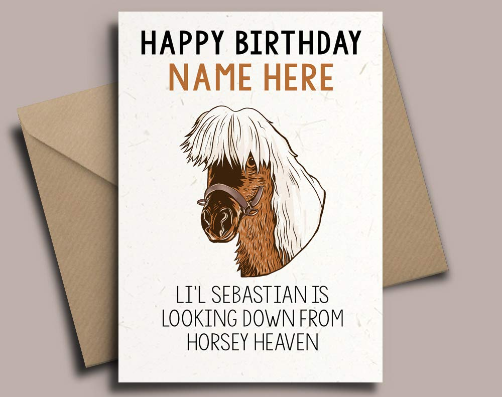 Ron Swanson Parks And Recreation Personalised Birthday Card Any Name Relative Ebay
