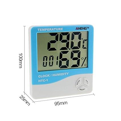 JohnJohnsen HTC-1 LCD Cubierta Temperatura Electrónico ...