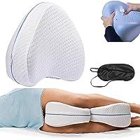2 Cojines Ortopédicos para Piernas y Rodilla, Alivia el Dolor de Espalda, Cadera y Articulaciones,…