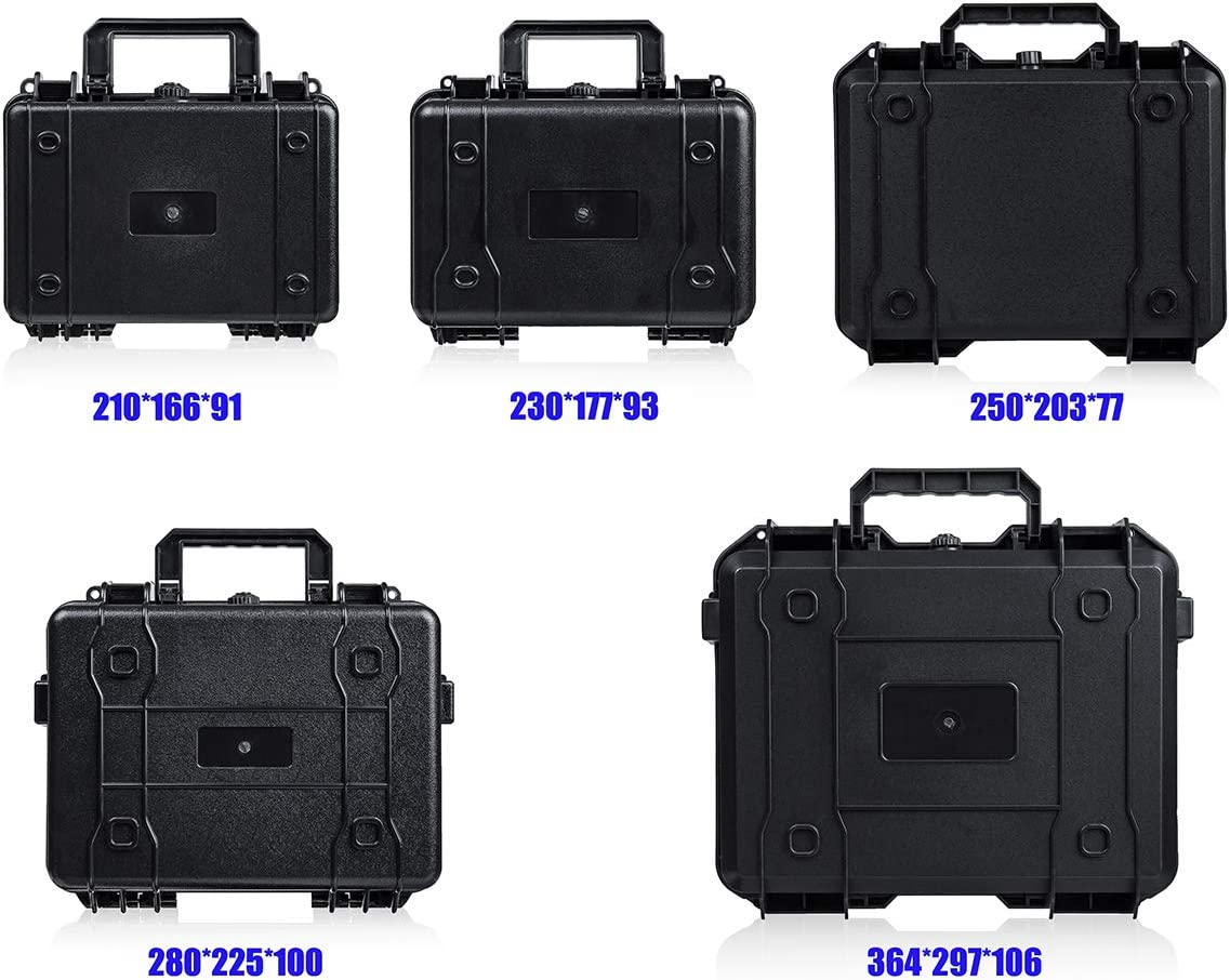 ABS Plastic Tool Instrument Storage Case Outdoor Portable Safety Box Waterproof Type a