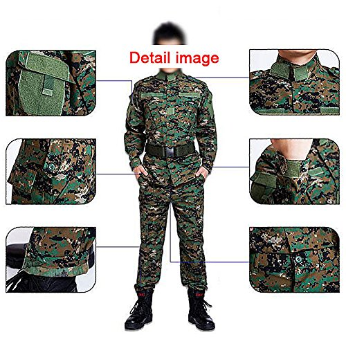 H Monde Shopping pour Homme Tactique BDU Combat Uniforme Veste Chemise & Pantalons Costume pour l'armée Militaire… 4