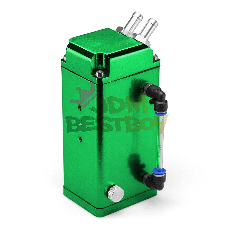jdmbestboy verde alta capacidad Cuadrado Billet Aluminio ...