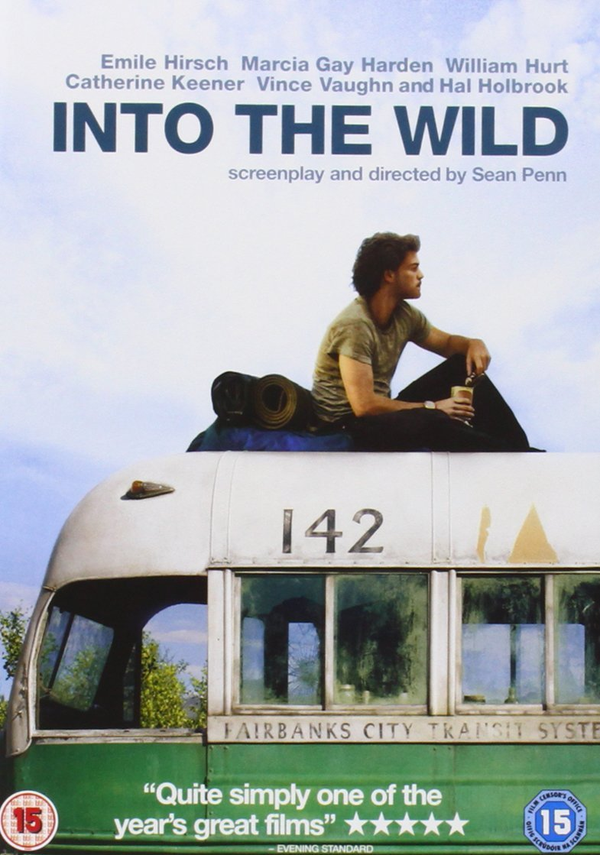 Into the Wild [DVD] [2007]: Amazon.co.uk: Emile Hirsch, Marcia Gay Harden,  William Hurt, Jena Malone, Catherine Keener, Vince Vaughn, Kristen Stewart,  ...