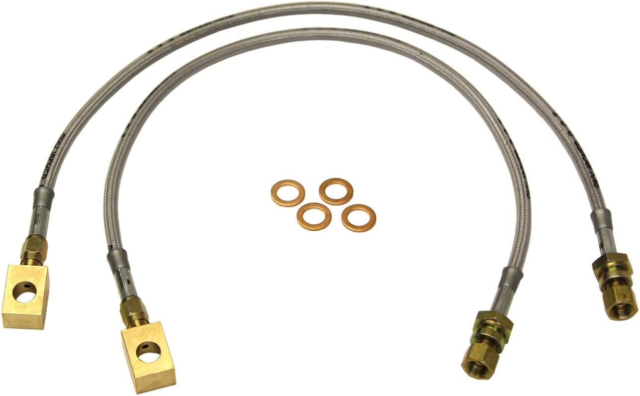 3-4 Stainless Steel Brake Line Pair Skyjacker FBL16