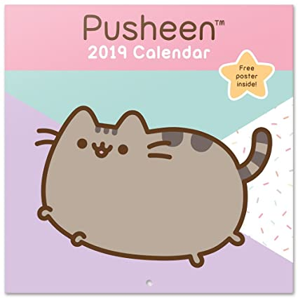Grupo Erik Editores Pusheen The Cat - Calendario 2019, 30 x 30 cm
