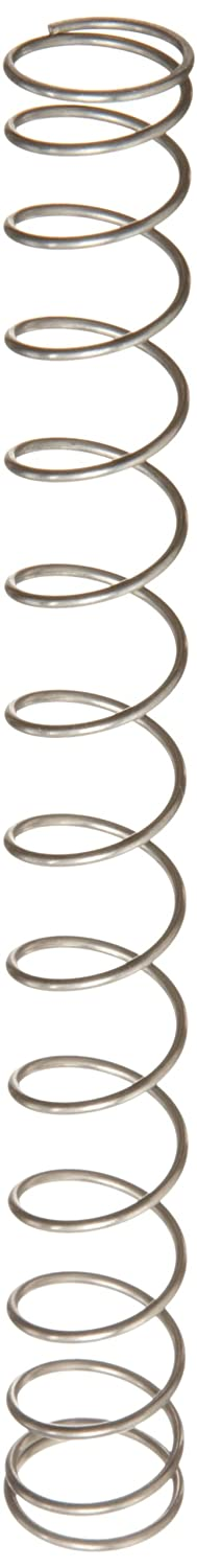 Compression Spring Stainless Steel Metric 17.25 mm OD 1.25 mm Wire Size 26.01 mm Compressed Length 140 mm Free Length 45.19 N Load Capacity 0.4 N mm Spring Rate Pack of 10