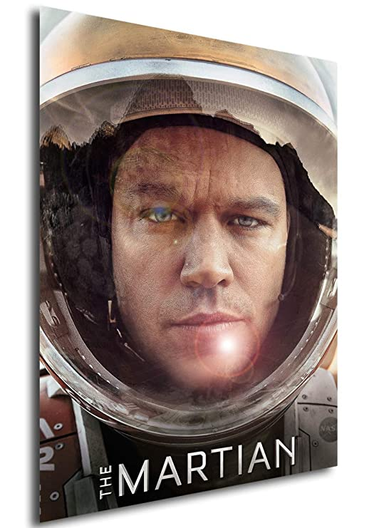Instabuy Poster Cartel de pelicula - Marte (The Martian) (A3 ...
