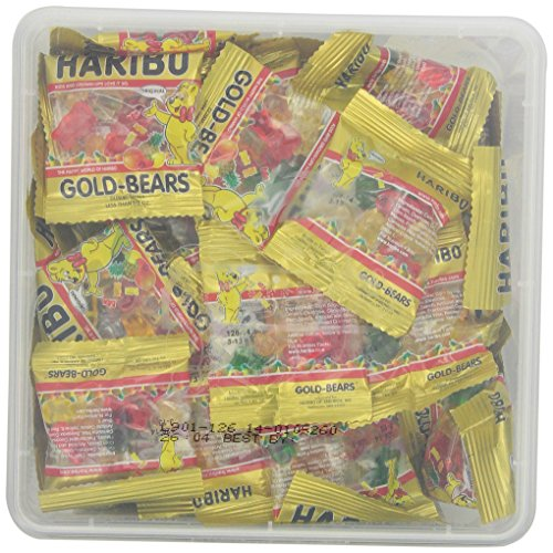 Haribo Goldbears Minis, 72-Count, 1 Pound 9.4 oz  Original Bears in mini bags by Haribo (Image #4)