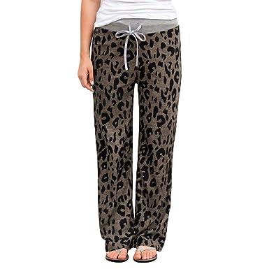 Pantalones Mujer Yoga Anchos Tallas Grandes Primavera LuckyGirls ...