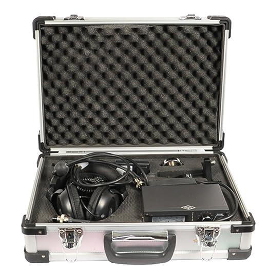 CGOLDENWALL JT-2000 - Detector de fugas de tubería de agua de alta sensibilidad, detector de fugas, detección de tuberías de agua, detector de fugas de agua ...