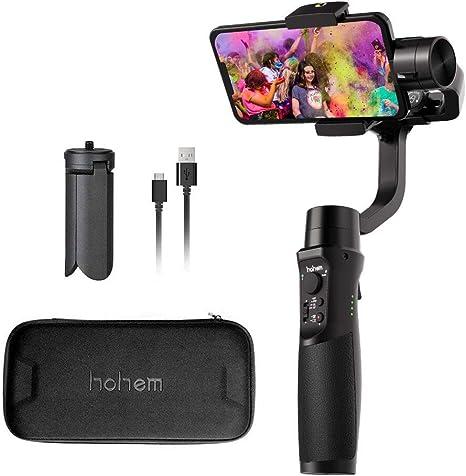 Hohem Smartphone Gimbal Stabilizer, iSteady Mobile Plus teléfono ...