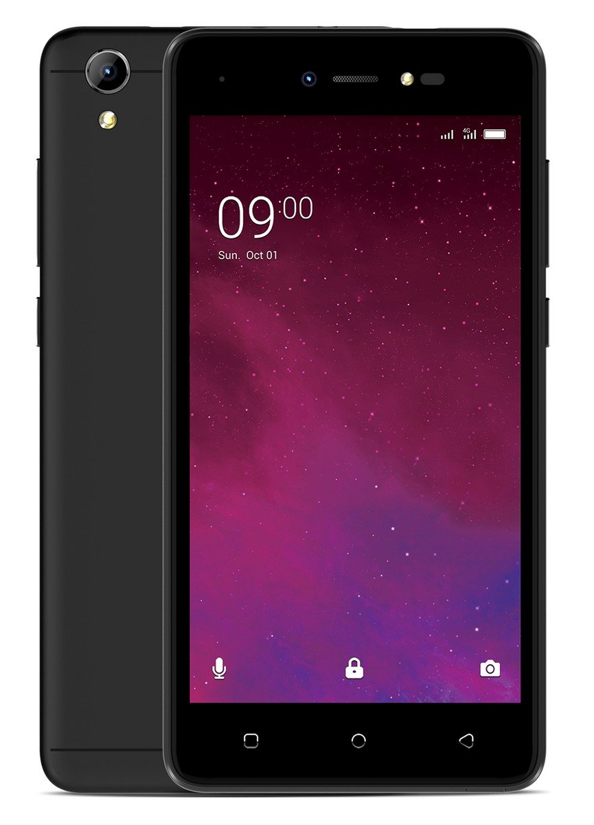 Lava Z60 (Black) with Offers
