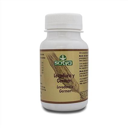 SOTYA - SOTYA Levadura de Cerveza y Germen de Trigo 125 comprimidos
