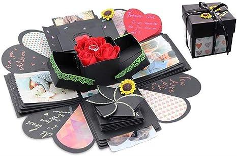 Creative Explosion Caja de regalo, álbum de fotos para hacer tú ...