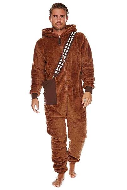 Amazon.com: Star Wars Chewbacca adulto Jumpsuit: Clothing