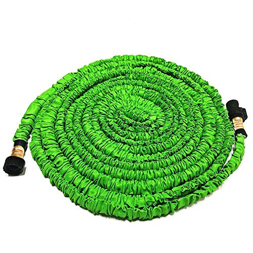 Wingogh Expandable Garden Hose – All New 25ft Expanding Garden Water Hose, Flexible Pressure Garden Hose with Brass Fitting & Triple Layer Latex Core & Latest Improved Extra Strength Fabric
