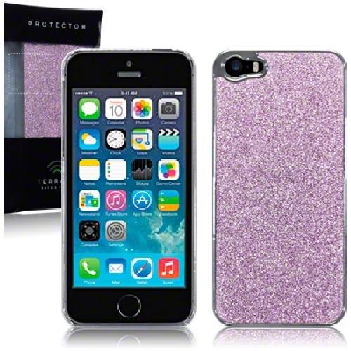 Terrapin Disco Glitter Coque arrière pour iPhone 5/5S Violet clair