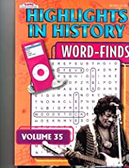 Set of 2 Volumes of Highlights in History from Kappa #1 in Puzzles, a total of 190 puzzles. These puzzle books revisits some of the events that have occurred in world history.