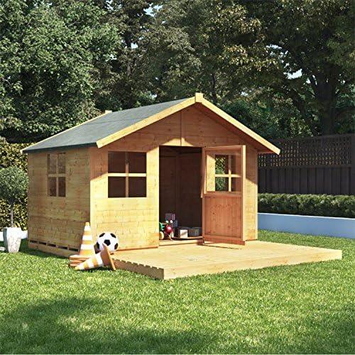 Casa de juegos de madera para niños 9 x 7 BillyOh Lollipop.: Amazon.es: Jardín