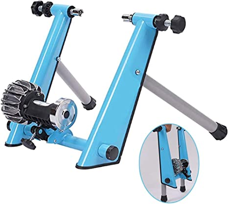 Bike Bicycle Magnetic Turbo Trainer Exercise Fitness Training Indoor Foldable