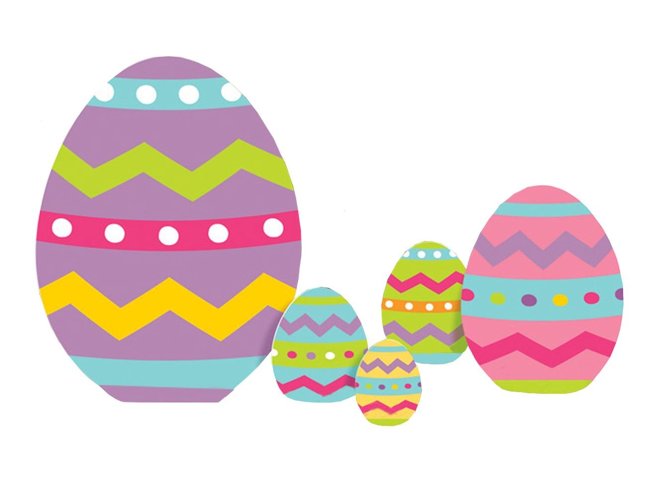 Easter Egg Yard Signs 5ct